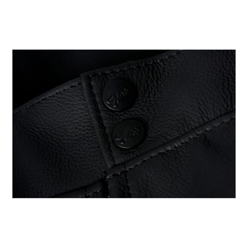 Pantalon cuir Furygan Raptor Evo noir/rouge - 4
