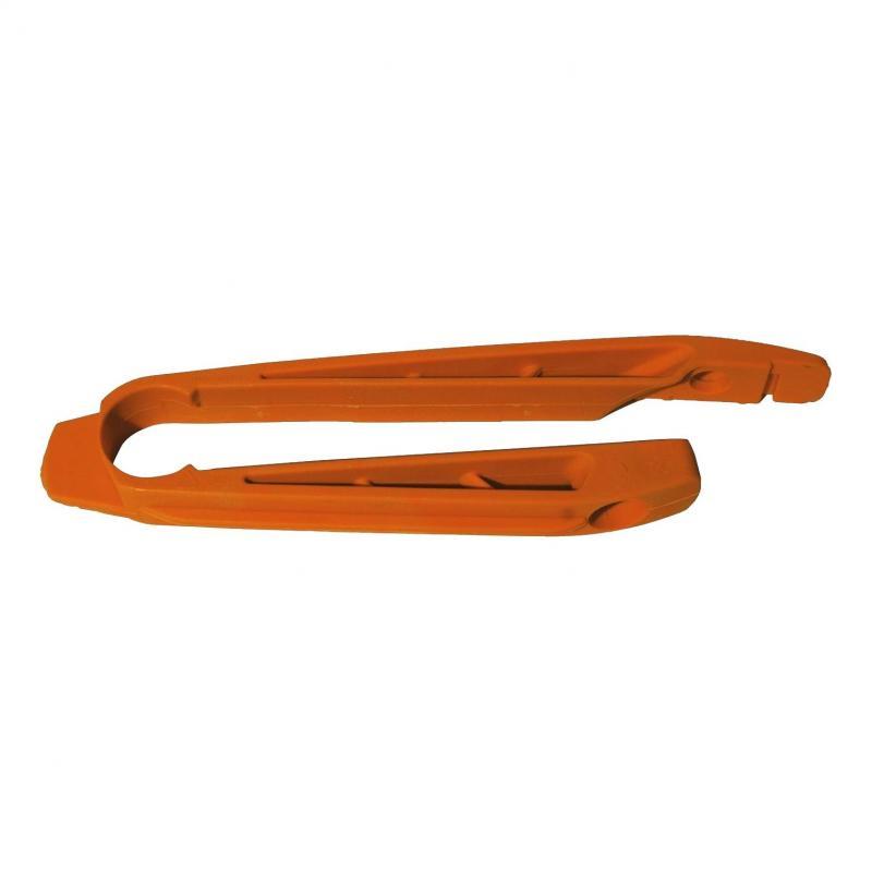 Patin de bras oscillant RTech orange pour KTM SX-F 250 07-10