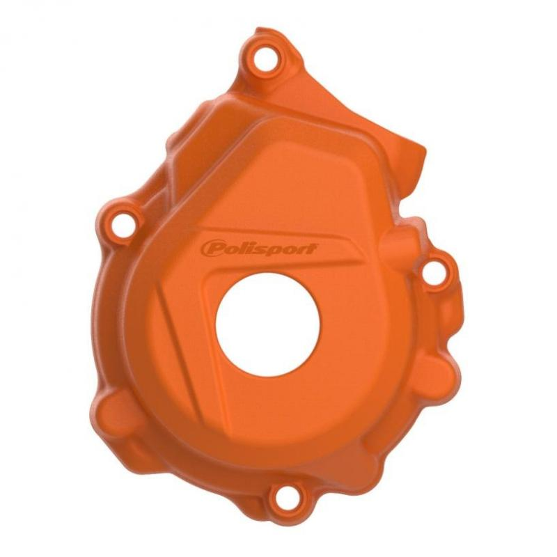 Protection de carter d'allumage Polisport KTM 250 EXC 12-16 orange