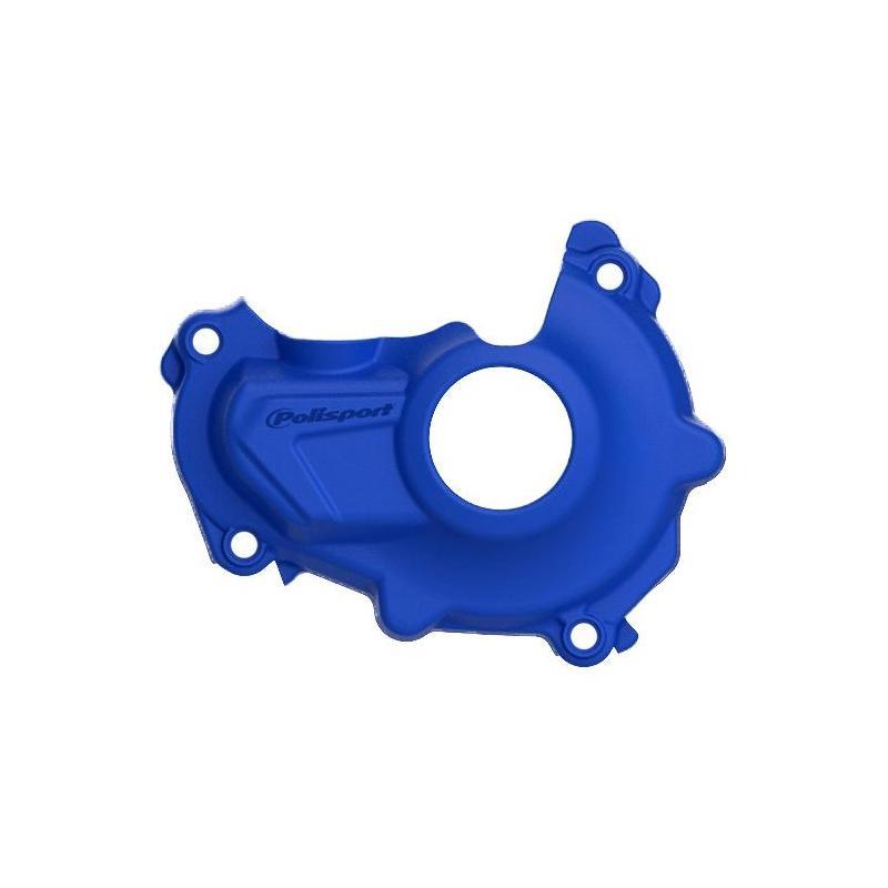 Protection de carter d'allumage Polisport Yamaha 125 YZ 06-19 bleu