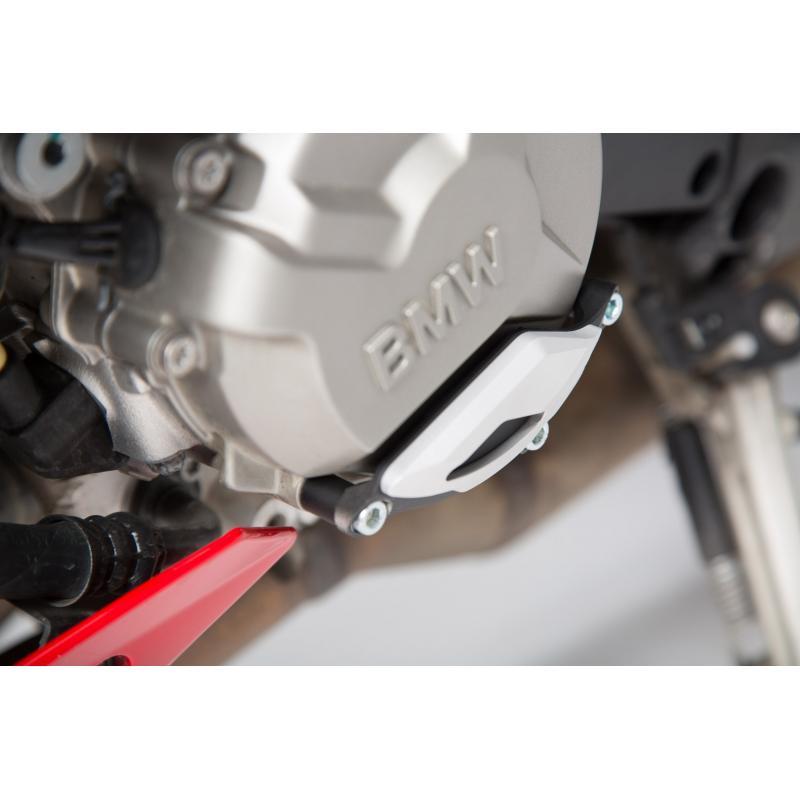 Protection de couvercle de carter moteur SW-MOTECH noir / gris BMW S1000R / RR / XR - 2