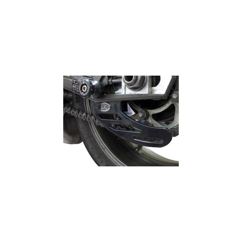 Protège couronne R&G Racing noir BMW S 1000 RR 10-18