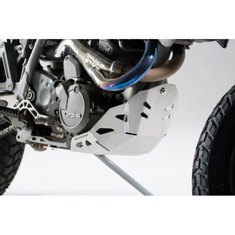 Sabot moteur SW-MOTECH gris KTM 620 Adventure 96-99 - 2