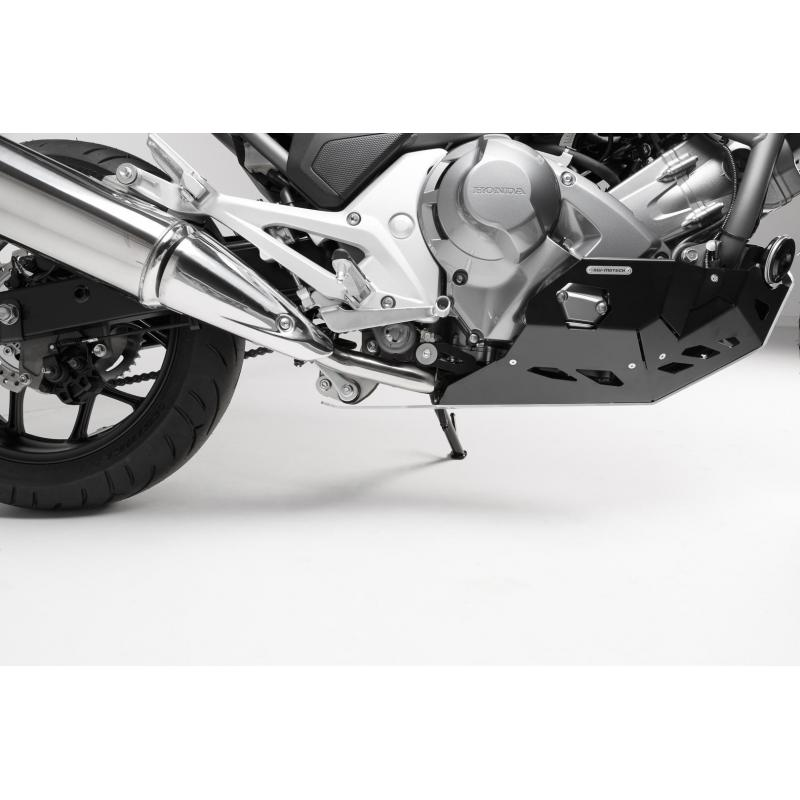 Sabot moteur SW-MOTECH noir / gris Honda NC700 / NC750 avec DCT - 2