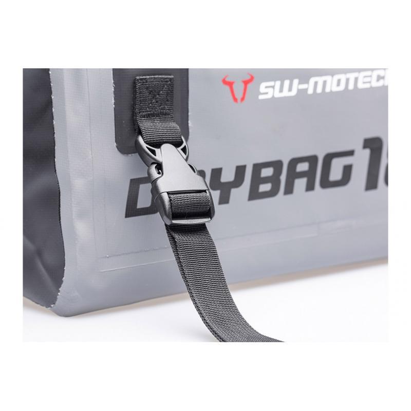 Sac étanche SW-MOTECH Drybag 180 18L gris / noir - 2