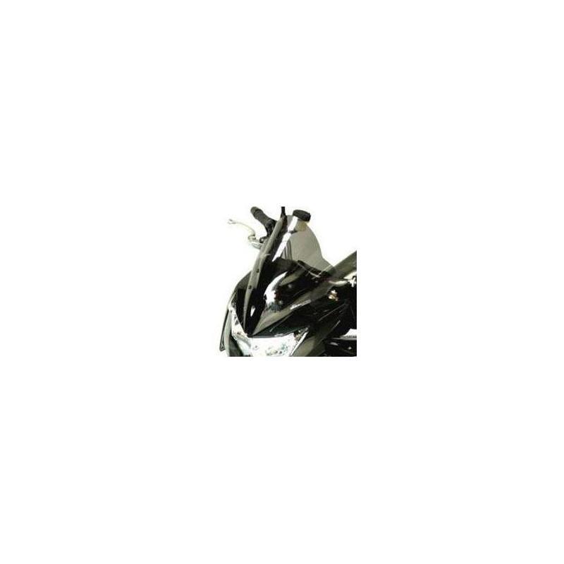 Saute-vent Bullster haute protection 34,5 cm fumé noir Kawasaki Z1000 07-09