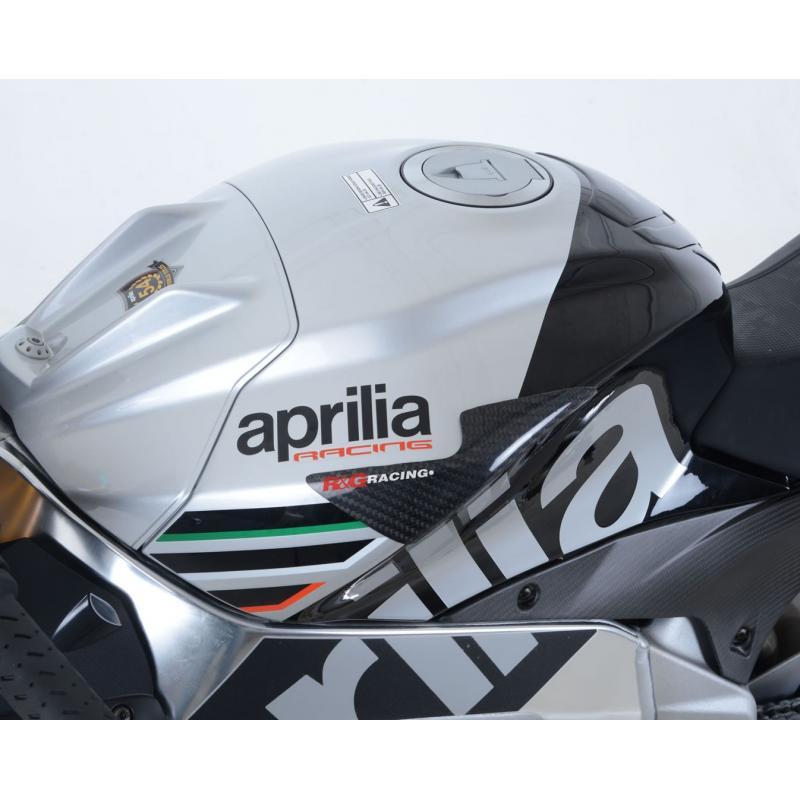 Slider de réservoir R&G Racing carbone Aprilia Tuono V4 1100 15-18