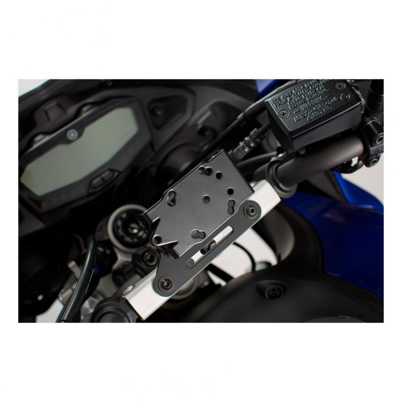 Support GPS SW-MOTECH QUICK-LOCK noir Yamaha MT-07 Tracer 16-