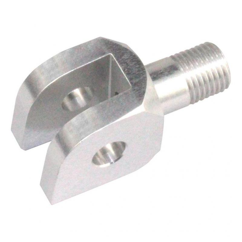 Supports de repose-pieds pilote V-Parts standards Aprilia RSV4 Factory 1000 09-15