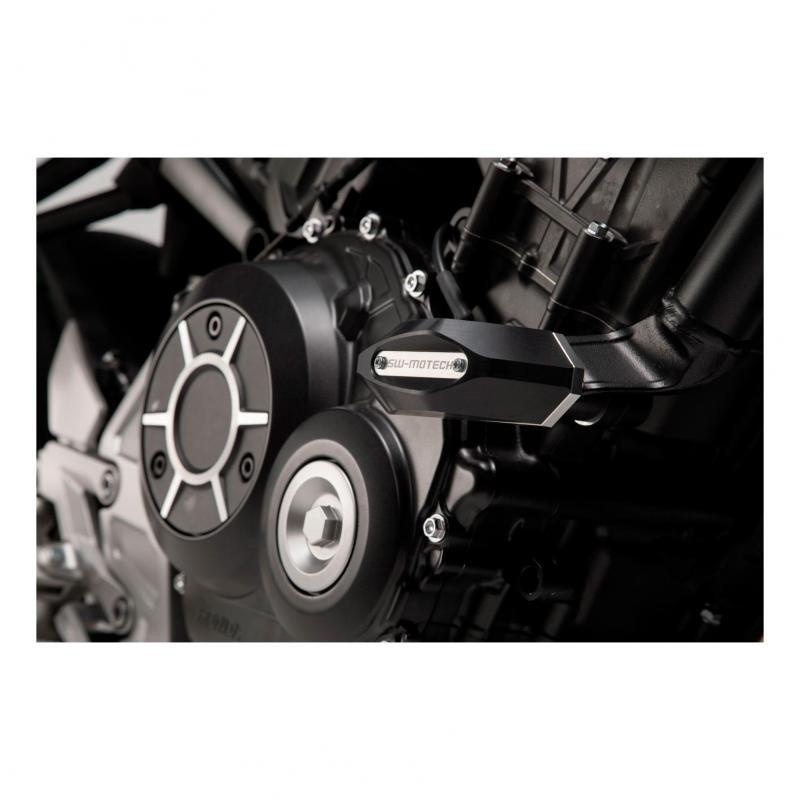 Tampons de protection SW-Motech noir Honda CB 1000 R 18-19