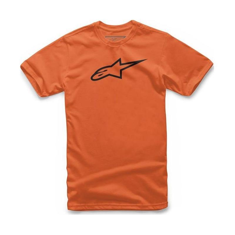 Tee-shirt enfant Alpinestars Kid's Ageless orange/noir