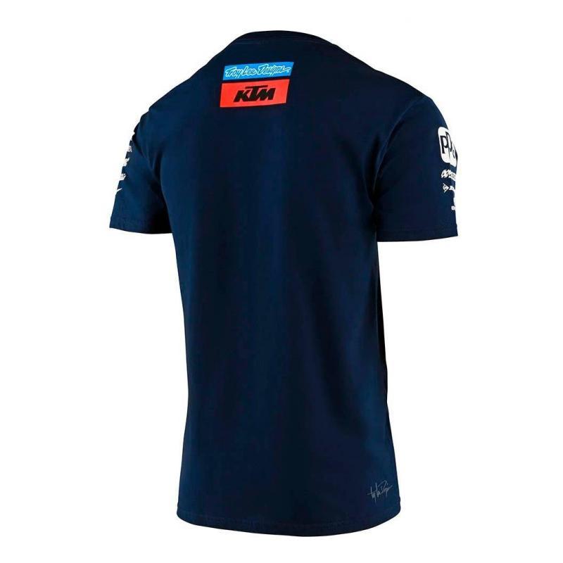 Tee-shirt Troy Lee Designs Team KTM 2020 navy - 1