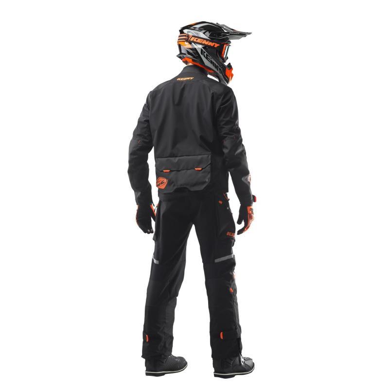 Veste enduro Kenny Dual Sport noir/orange - 4