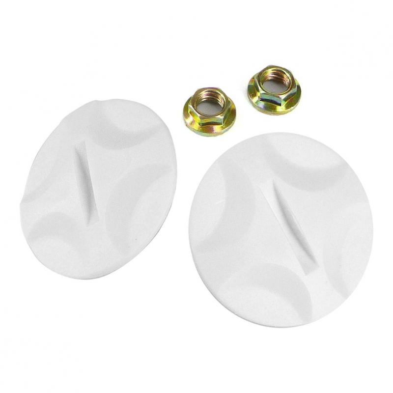 Visserie plastique casque Helios +luxe SB13B blanche