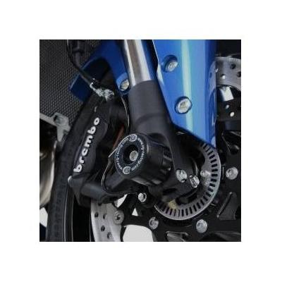 Tampons de protection de fourche R&G Racing noirs Suzuki GSX-S 1000 15-18