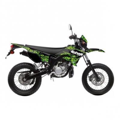 Kit déco Kutvek Predator MBK Xlimit / Yamaha DT 07-11 noir / vert