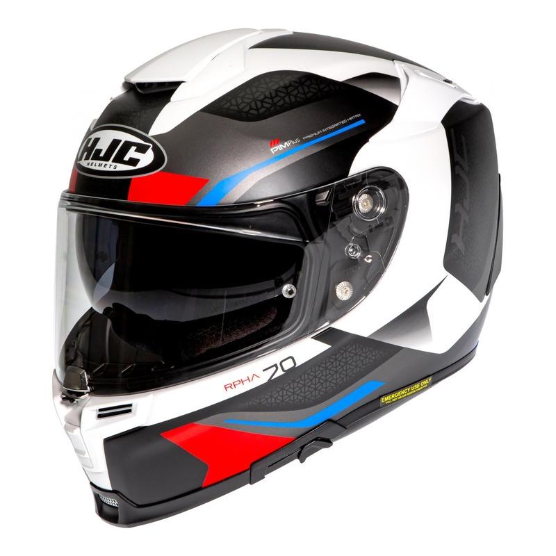 Casque intégral HJC RPHA 70 Kosis MC21SF rouge/noir/bleu/blanc