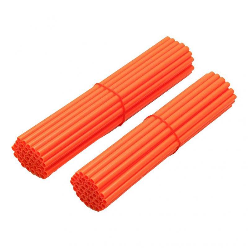 Couvre rayon ART pour roue avant 21'' et roue arrière 18''/19'' orange