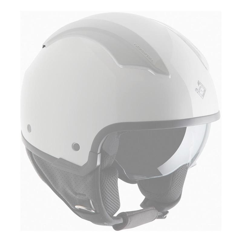 Couvercles de ventilation amovibles Tucano Urbano pour casque EL'FRESH blanc glacier brillant