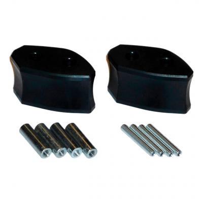 Extension de rétroviseur SW-MOTECH Profile noir Yamaha FZS 1000 Fazer 00-04