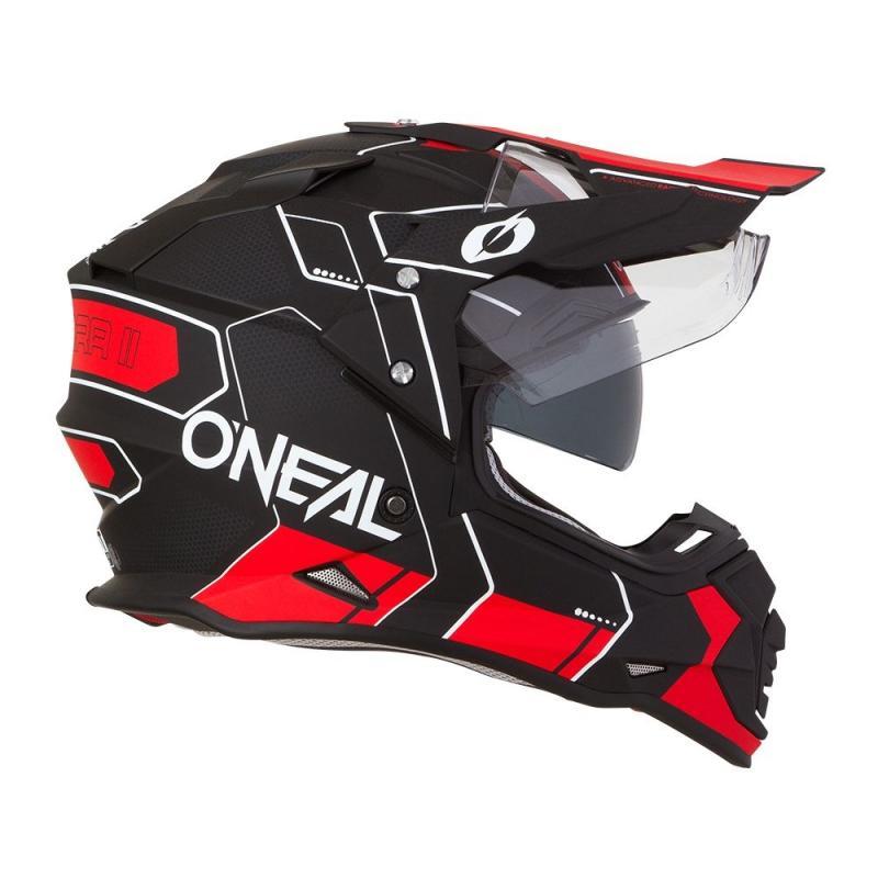 Casque intégral O'Neal Sierra II Comb noir/rouge - 3