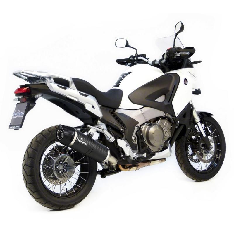 Silencieux Leovince LV One Evo full carbone pour Honda VFR 1200 X Crosstourer 12-15
