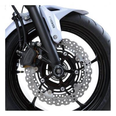 Tampons de protection de fourche R&G Racing noirs Suzuki GSX-R 750 02-05