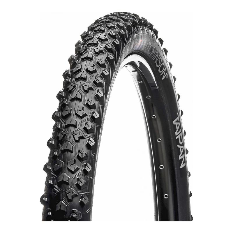 Pneu vélo VTT Hutchinson Taipan TR noir (26''X2.10'')