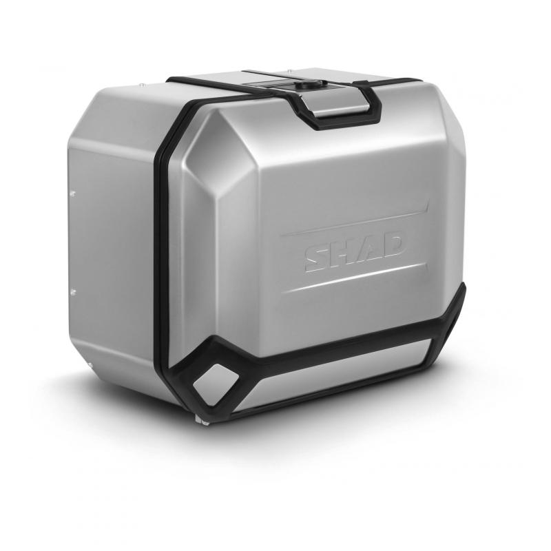 Valise latérale Shad Terra TR47 aluminium (côté droit)