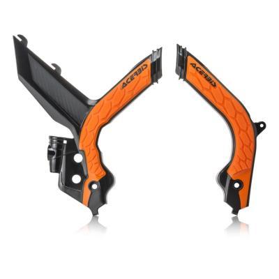 Protection de cadre Acerbis X-Grip KTM 125 SX 19-20 noir/orange