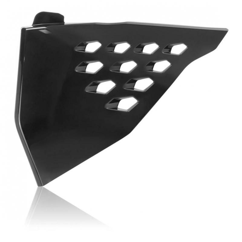 Cache de filtre à air ventilé Acerbis Vented KTM 250 SX-F 19-21 noir
