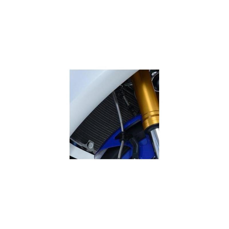 Protection de radiateur noire R&G Racing Yamaha MT-07 14-18