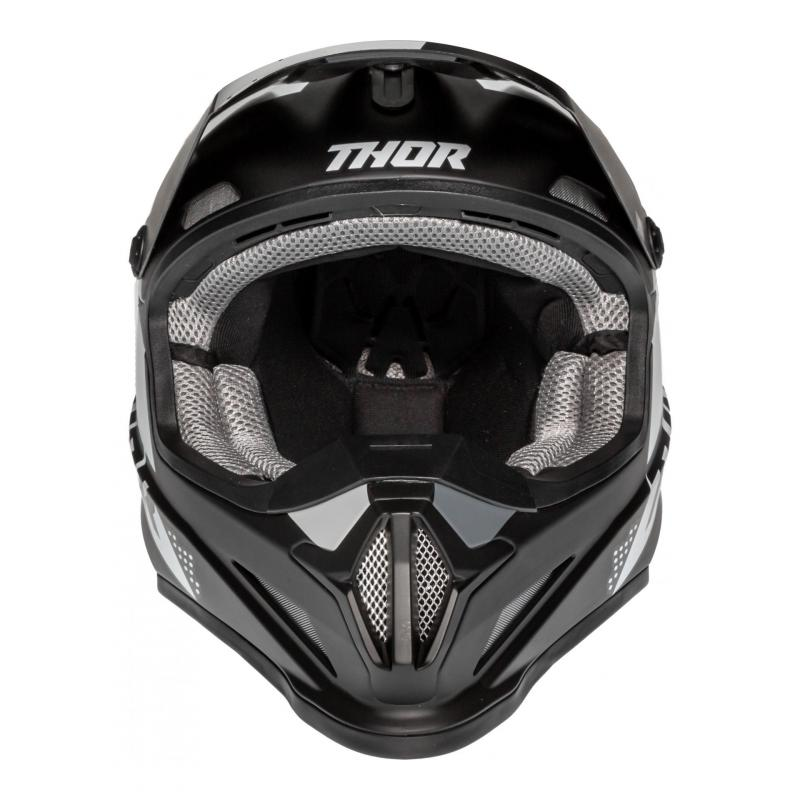 Casque cross Thor Sector Blade noir/blanc - 3