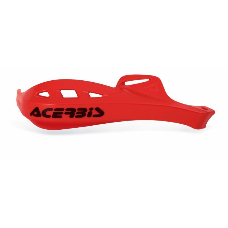 Plastiques de remplacement Acerbis pour protège-mains Rally Profile rouge (paire)