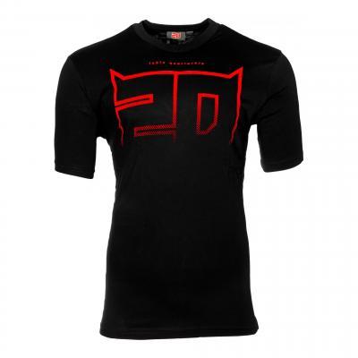 Tee-shirt Fabio Quartararo Flock 20 noir