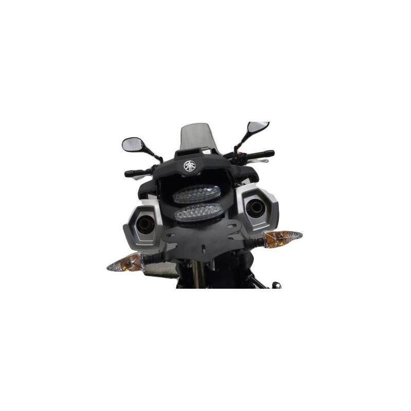 Support de plaque d'immatriculation R&G Racing noir Yamaha XT Z 660 Ténéré 09-15