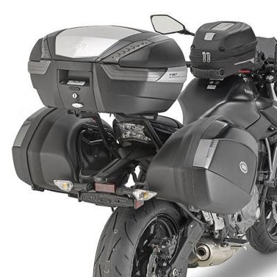Supports de valises latérales Monokey Side Givi PLX Kawasaki Z 650 17-18