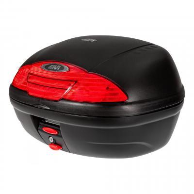 Top case Givi E450 Simply II monolock noir avec platine et kit de fixation