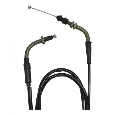 Cable de gaz scooter chinois GY6 199cm (CABLE + GAINE)