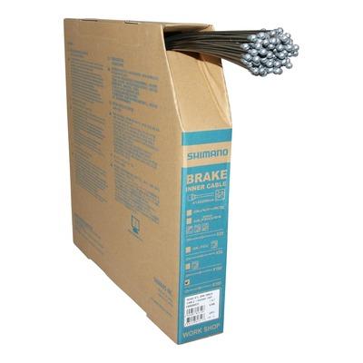 Câbles de frein route Shimano acier Ø1,6mm x 2,05m (boîte de 100 câbles)