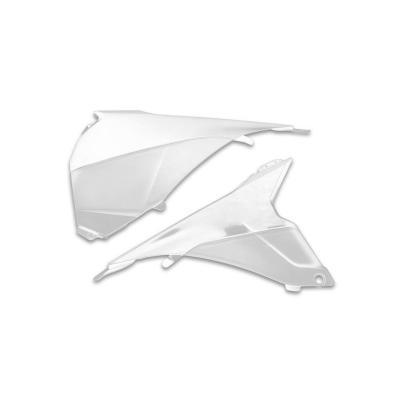 Cache de boîte à air Cycra KTM 125 SX 13-15 blanc