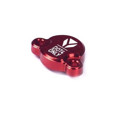 Capot maître cylindre frein arrière YCF Cnc rouge