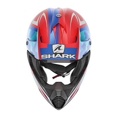 Casque cross Shark Varial Réplica Tixier Mat rouge/blanc/bleu