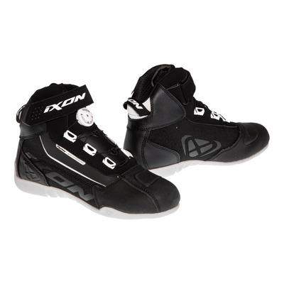 Chaussures moto femme Ixon Assault Evo Lady noir/blanc