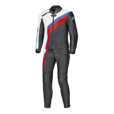 Combinaison cuir 2 piéces Held Medalist noir/blanc/rouge/bleu (long)