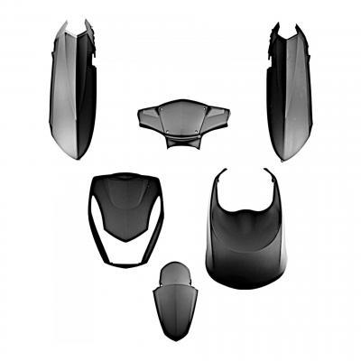 Kit carrosserie Peugeot 50 Kisbee noir mat