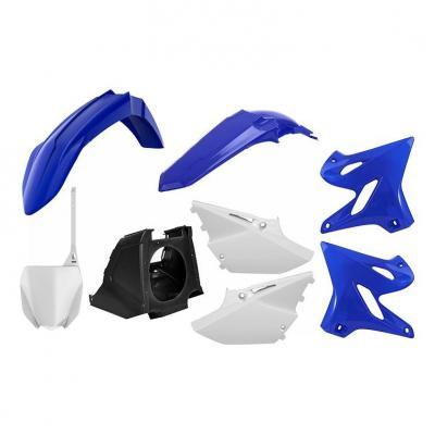 Kit plastique Polisport Restylé Yamaha 250 YZ 06-21 blanc/bleu (couleur origine)