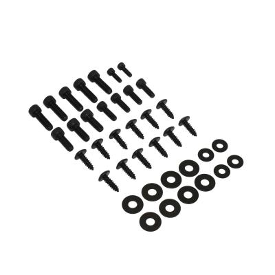 Kit vis de carrosserie Replay acier noir pour Ovetto/Neos