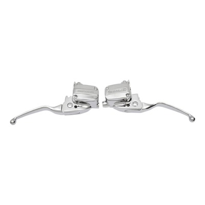 Levier embrayage Drag Specialties Slotted Wide Harley Davidon Road King 17-20 chrome