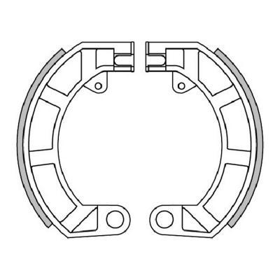 Mâchoires de frein Polini Original pour Vespa 50 Special/Vespa ET3